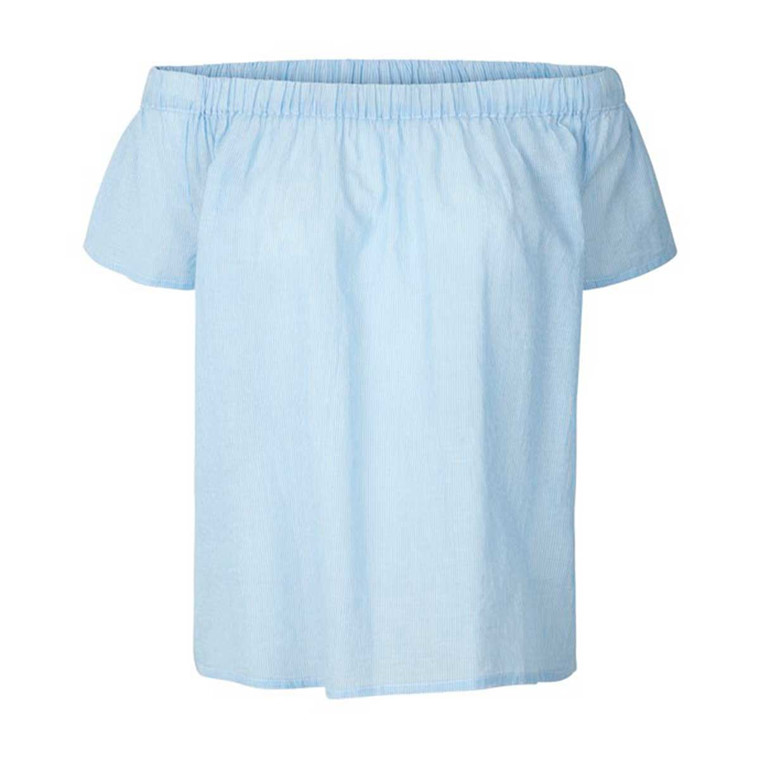 LOLLYS LAUNDRY TOP - CHARLIE TOP 20 BLUE