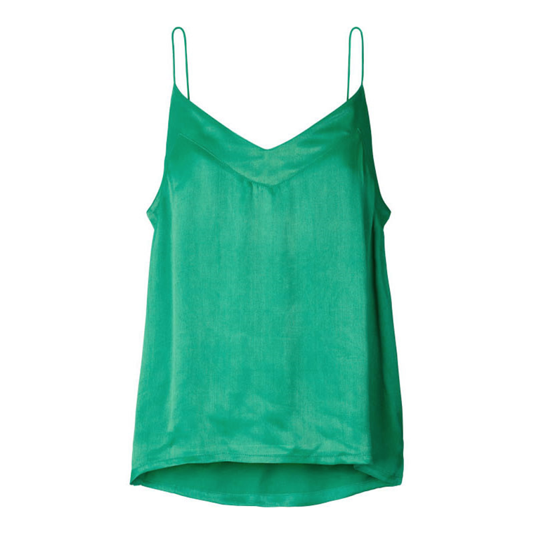 LOLLYS LAUNDRY TOP - HARBO GREEN