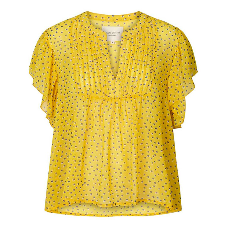 LOLLYS LAUNDRY TOP - ISABEL YELLOW