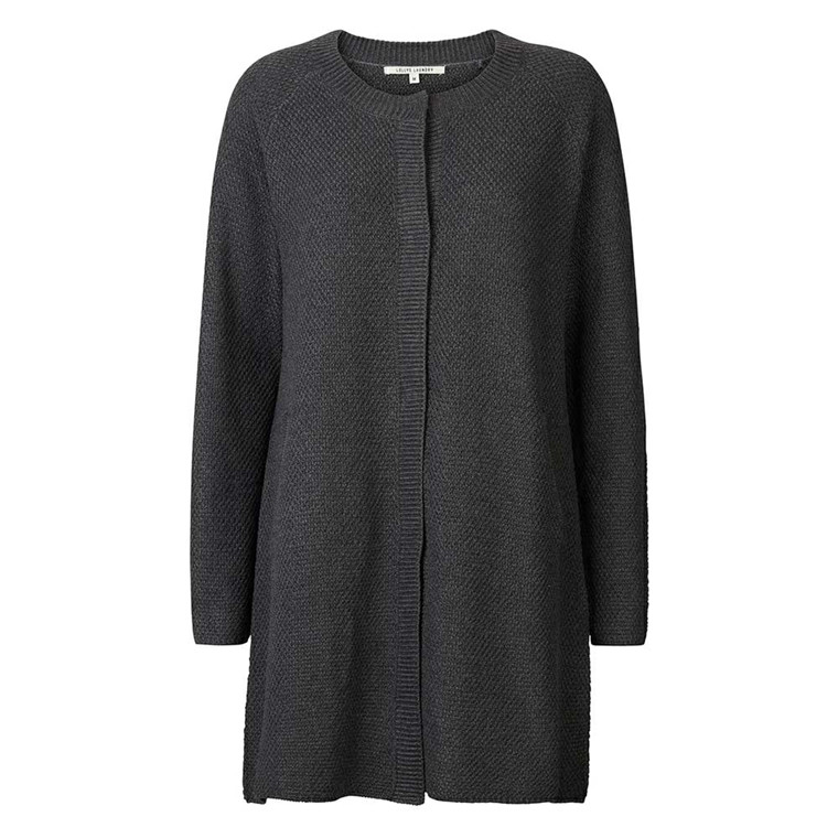 LOLLYS LAUNDRY CARDIGAN - STELLA 14 DARK GREY