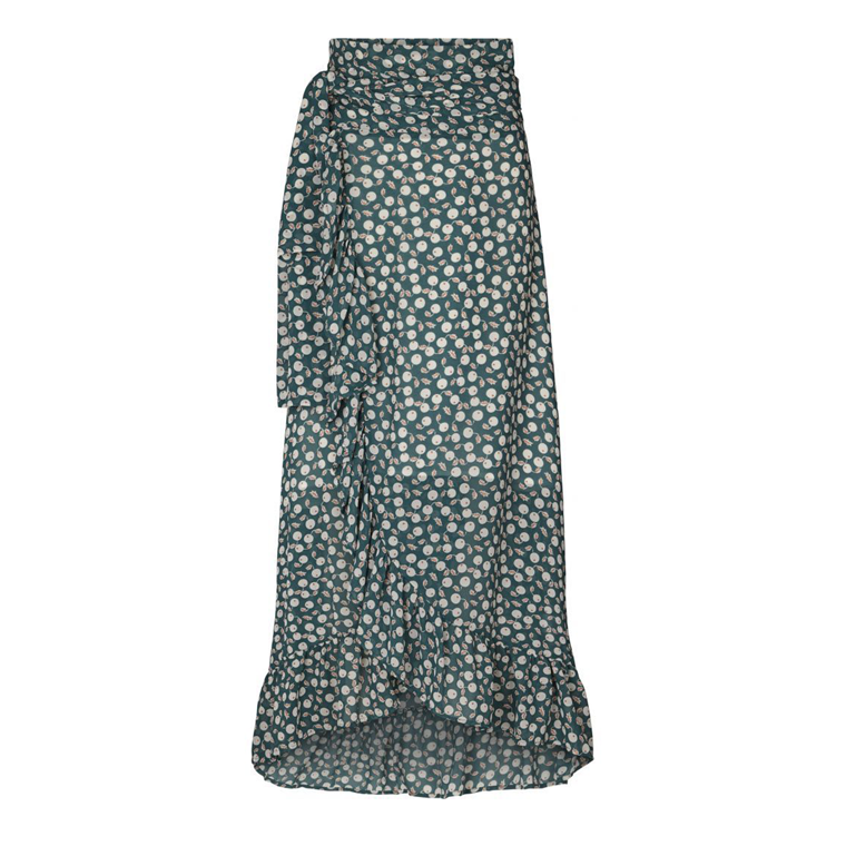 LOLLYS LAUNDRY NEDERDEL - AMBY DARK GREEN