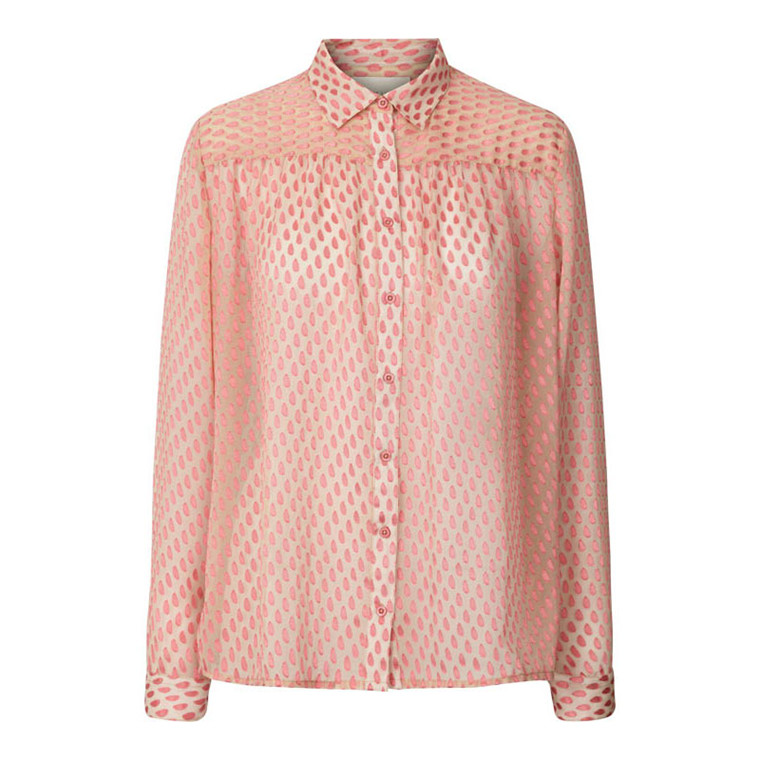 LOLLYS LAUNDRY BLUSE - ALLISON PINK