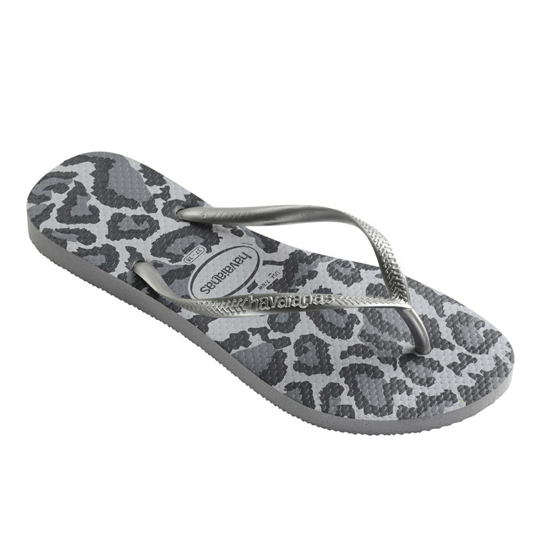 HAVAIANAS SANDAL - SLIM ANIMALS ICE GREY