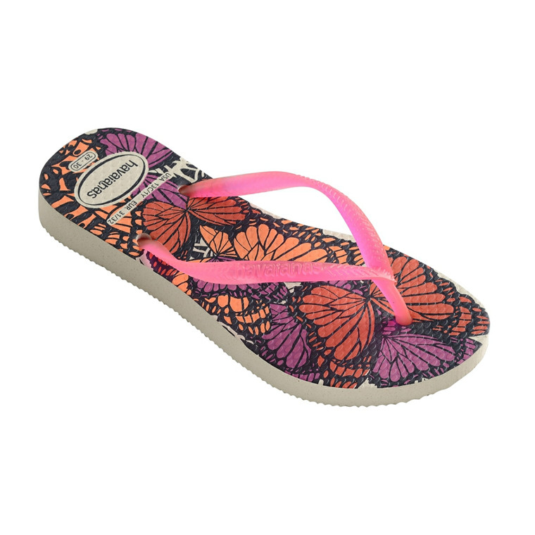 HAVAIANAS SANDAL KIDS - SLIM FASHION BEIGE