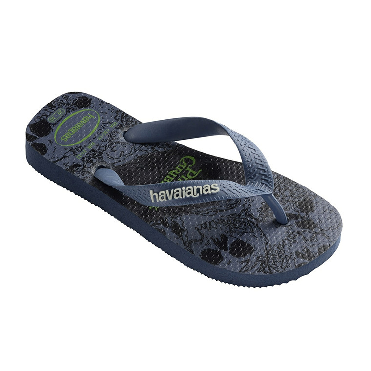 HAVAIANAS SANDAL KIDS - SLIM PIRATES INDIGO BLUE