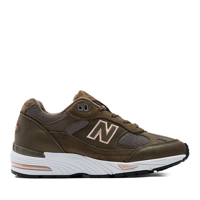 NEW BALANCE SNEAKERS - W991SMK ARMY