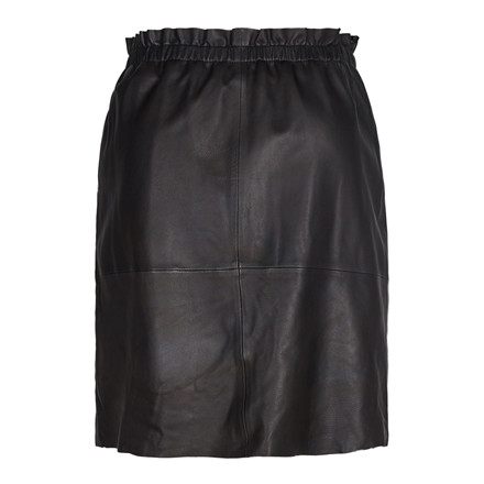 MOS MOSH NEDERDEL - ELLIE LEATHER BLACK