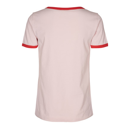 MOS MOSH T-SHIRT - SINA O-NECK SOFT ROSE