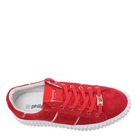 PHILIP HOG SNEAKERS - MIA RED