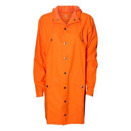 aa0a4883952 1202 orange long regnjakke - Rains   Rikke Solberg