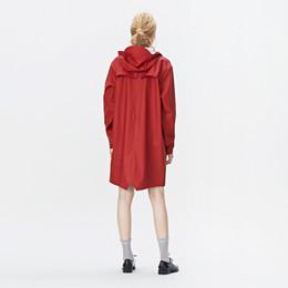 fb101edbb26 1202 rød long regnjakke - Rains   Rikke Solberg