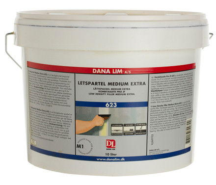 Letspartel Medium Extra 623, DANA  10 ltr