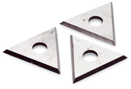Klinger, trekantede, til farveskraber