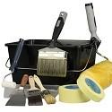 Værktøj - pensler, ruller, spartler