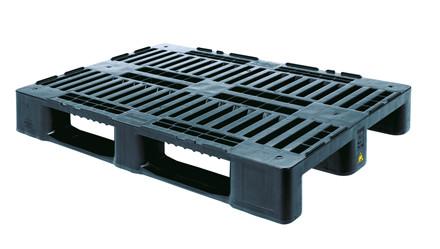 Transportpalle - kunststof 1200 x 800 x 160 mm