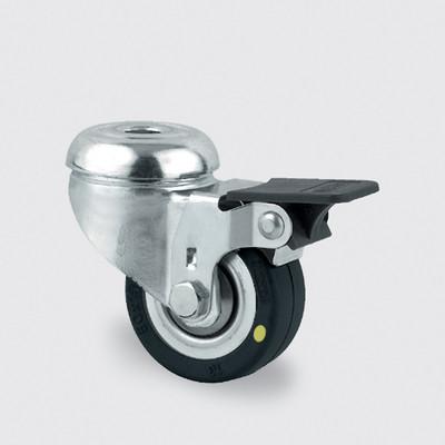 Drejeligt ESD hjul, 50 mm, m. bremse