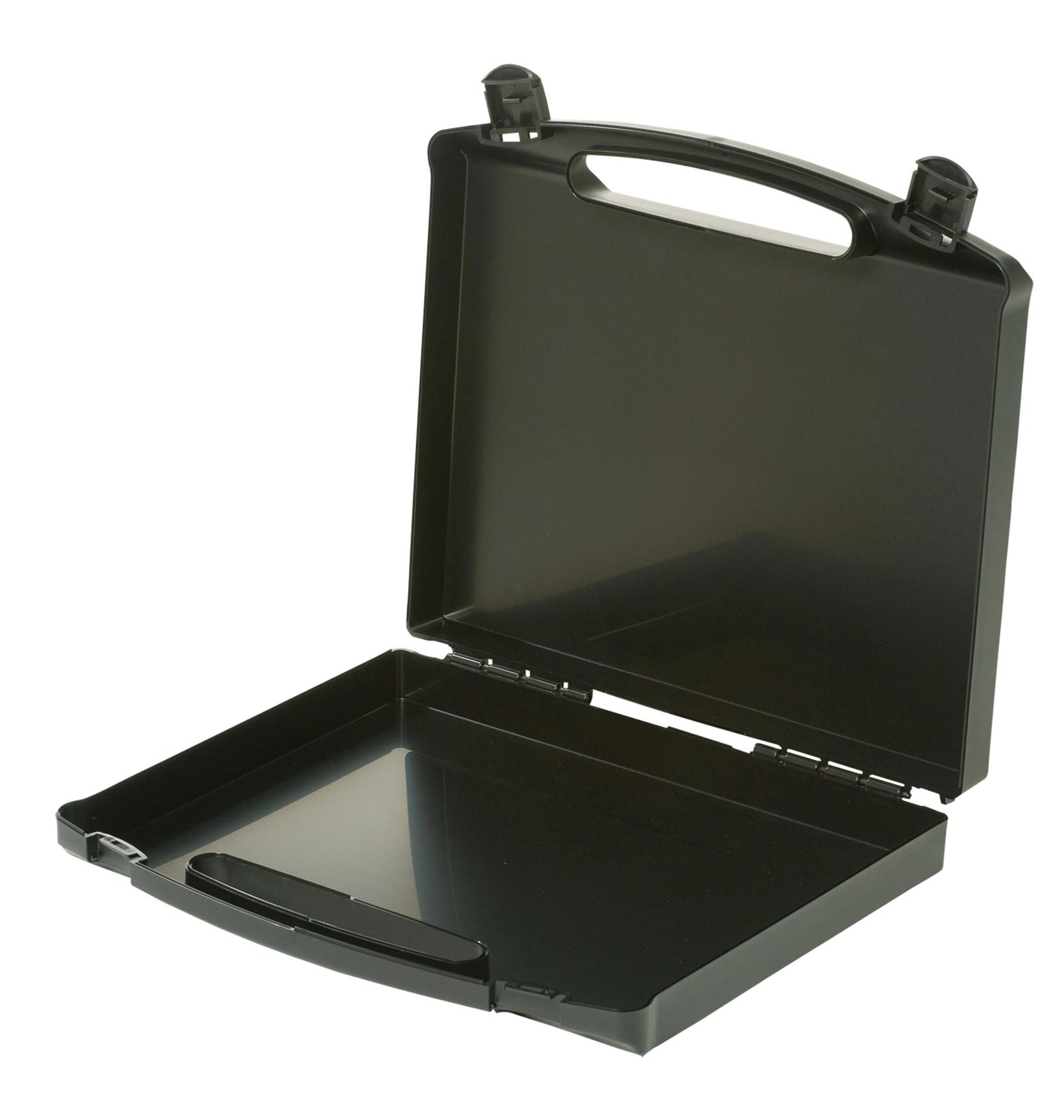 Ledende kuffert, sort