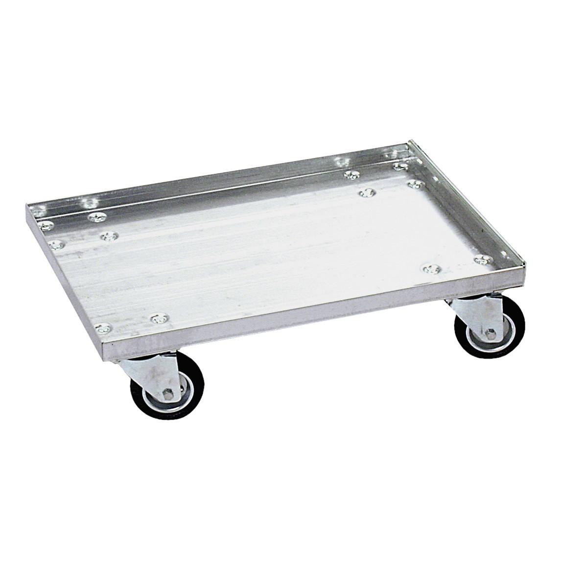 Trolley til lagerkasser