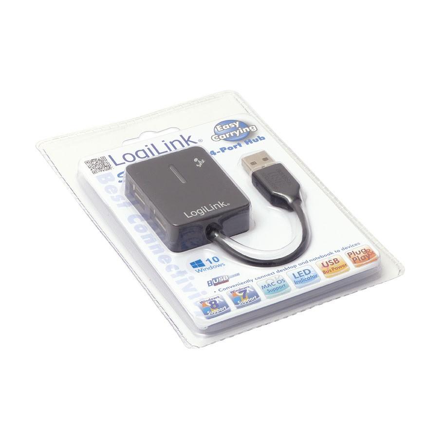 4-ports USB-hub