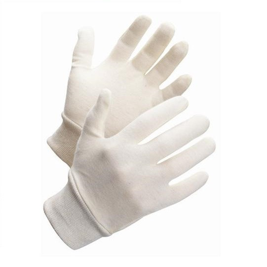 Bomulds/polyester inderhandsker