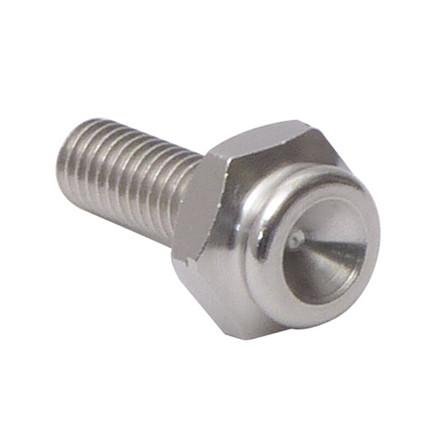 10 mm trykknap-adapter med M6 gevind
