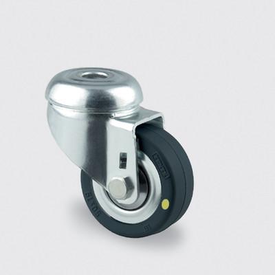 Drejeligt ESD hjul med hul, 50 mm