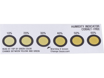 Fugtighedsindikatorkort