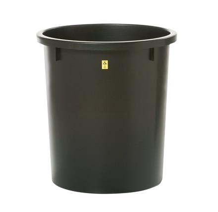 Ledende papirkurv, 35 liter