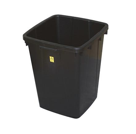 Ledende affaldsbeholder 90 liter
