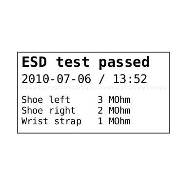 Labelprinter til persontester PGT120.COM