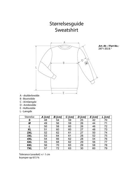 Dame og Herre Sweatshirt