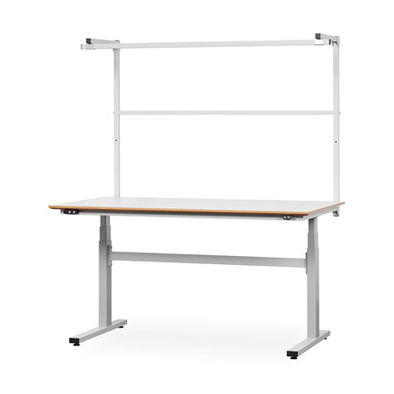 ZENI-LIFT 120 ESD hæve/sænkebord, <br/>80 x 200 cm