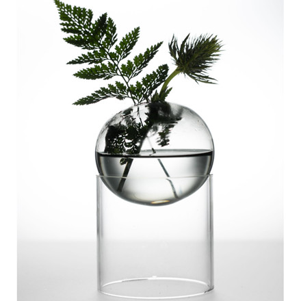 About Form And Function Bordboble Vase Smoke 8 cm