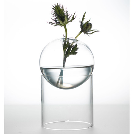 About Form And Function Bordboble Vase Transperant 8 cm
