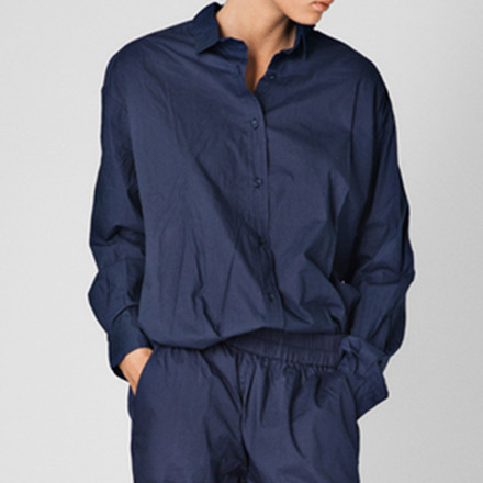 Aiayu Shirt Navy