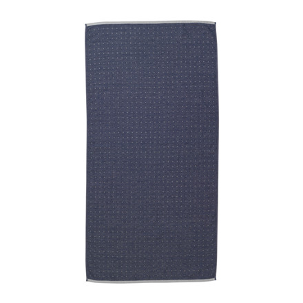 Ferm Living Badehåndklæde Sento, Blå