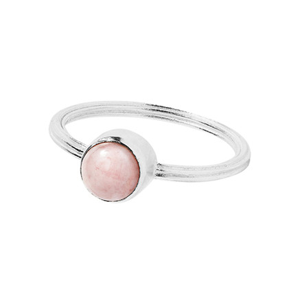 Carré Jewellery Archive Ring Sølv Pink Opal