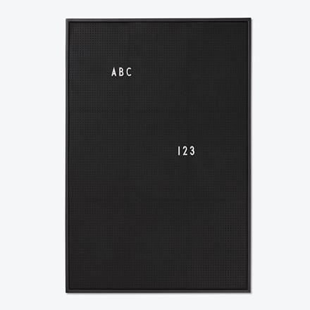 Design Letters Message Board Sort A2