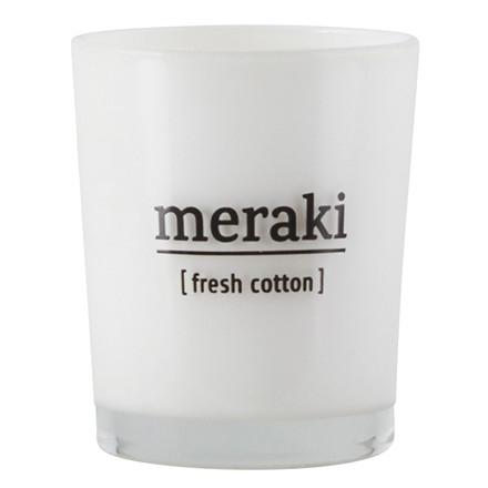 Meraki Duftlys Fresh Cotton Small