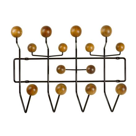 Eames Hang it All Knagerække Valnød-Brun