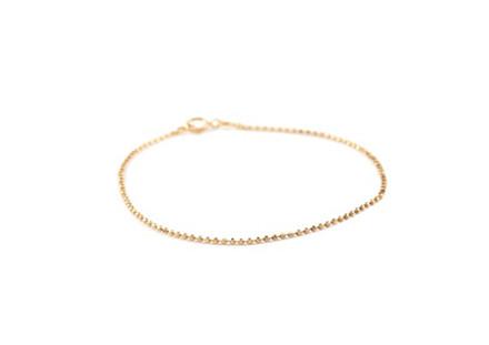 Pernille Corydon Facet Plain Armbånd Guld