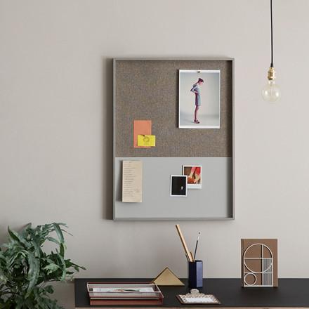 Ferm Living Opslagstavle Frame Pinboard Grå