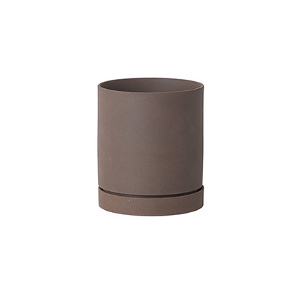 Ferm Living  Urtepotte, Sekki Pot Rust Medium