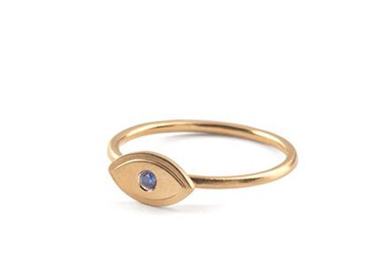 Pernille Corydon Lucky Eye Ring Guld