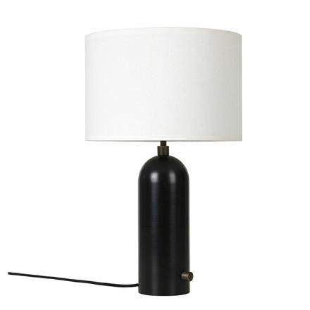 Gubi Gravity Bordlampe Sort stål
