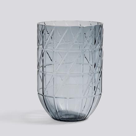 HAY Colour Vase L Blå