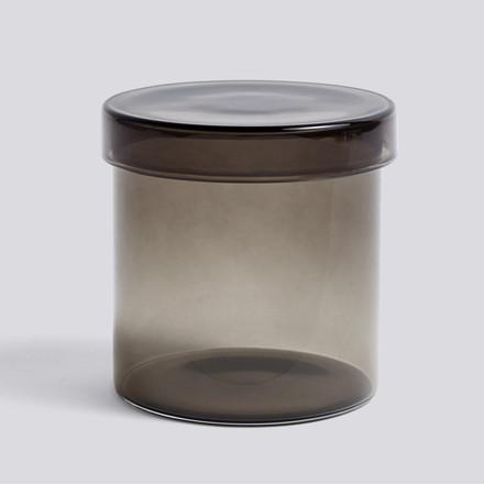HAY Container Lågkrukke Grå