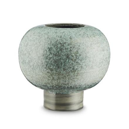 H. Skjalm P Vase Como Støvgrøn Keramik