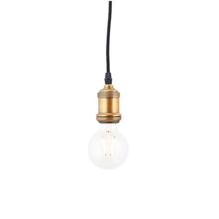House Doctor Clear Decoration LED Pære 111x80mm