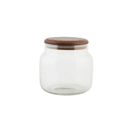 House Doctor Opbevaringsglas, egetræ